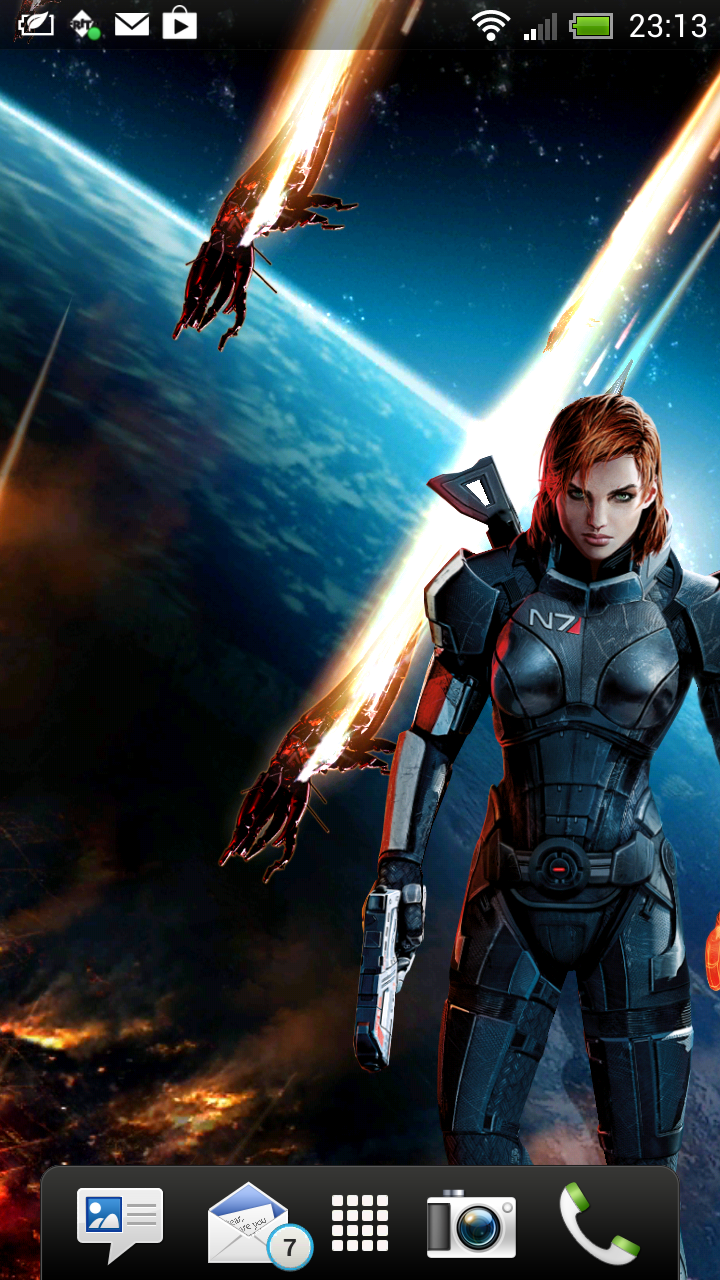 Mass Effect Ring Tones And Live Wallpaper Johan Draaisma S